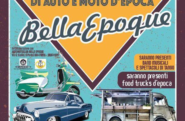 Al via Belle Epoque: la prima edizione del raduno di auto e moto d'epoca