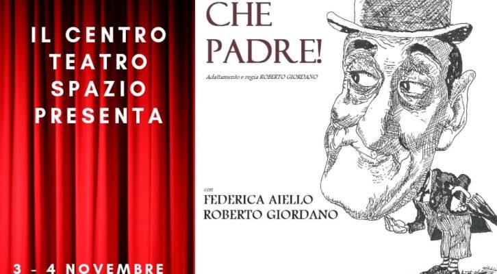 """Centro Teatro Spazio: """"Totò, che padre!"""" per la regia di Roberto Giordano"""