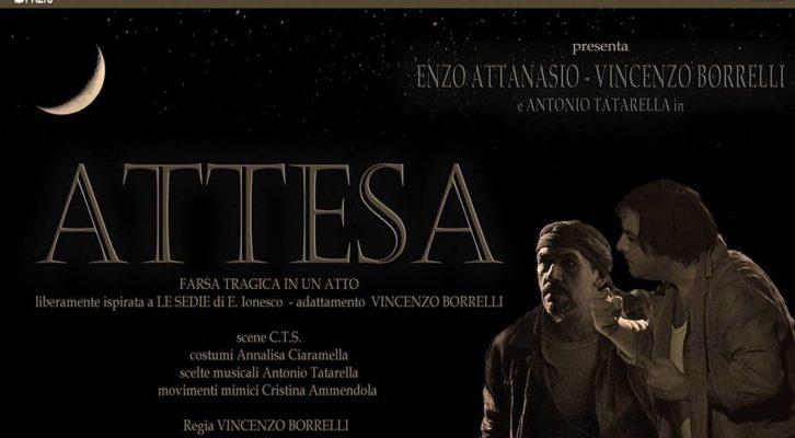 """Centro Teatro Spazio: """"Attesa"""" per la regia di Vincenzo Borrelli"""