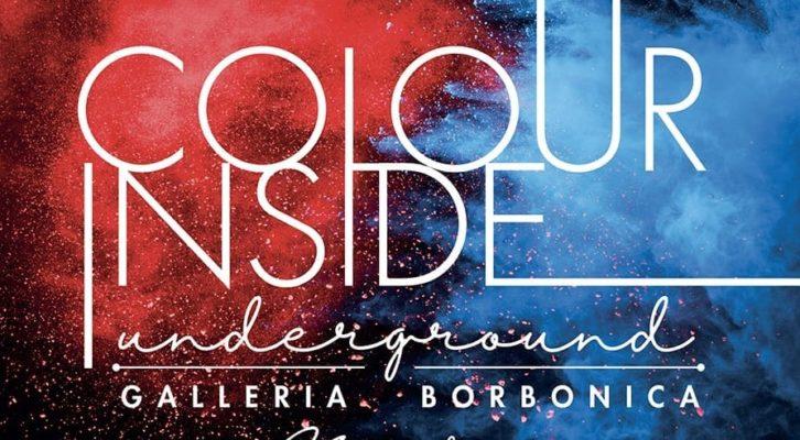 """Alla Galleria Borbonica di Napoli """"Colour Inside Underground"""""""