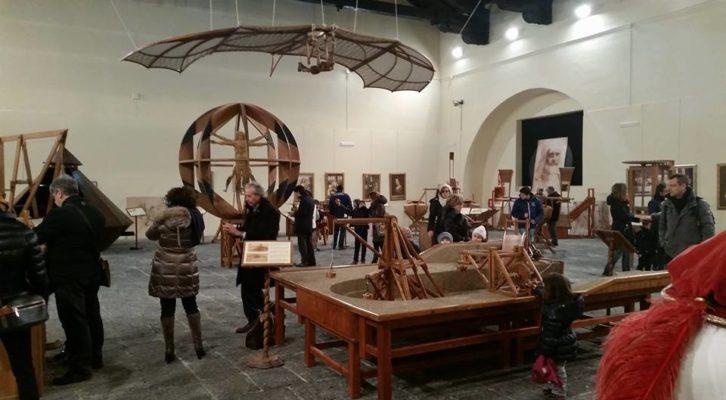 Arriva a Napoli la Mostra sulla vita, le macchine e le opere di Leonardo da Vinci