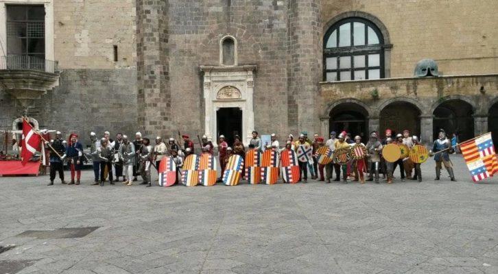 """Al Maschio Angioino """"La Reggia e l'Arme – La corte di Alfonso d'Aragona e gli uomini d'arme"""""""