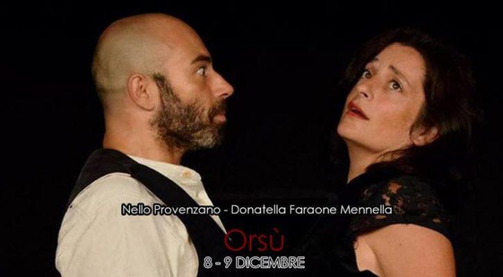 """Al Centro Teatro Spazio """"Orsù"""" diretto da Libero de Martino"""