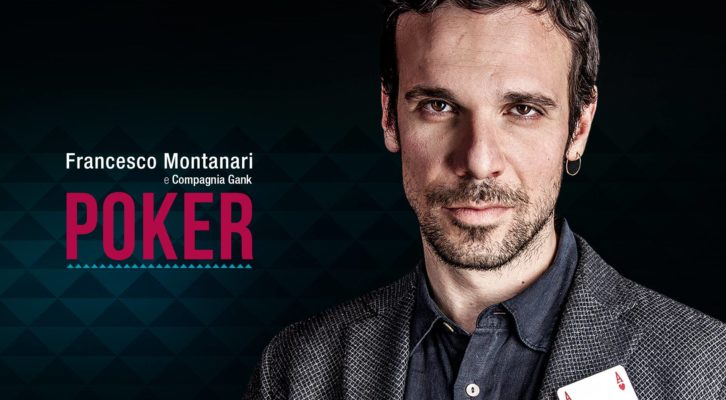 """Poker"" di Patrick Marber con Francesco Montanari al teatro Sannazaro"