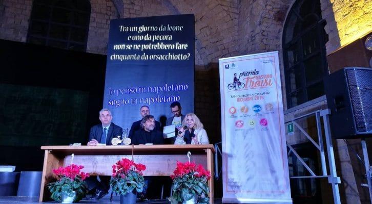 Presentato il programma della diciottesima edizione del Premio Massimo Troisi