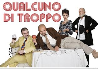 """Al Teatro degli Audaci di Roma va in scena """"Qualcuno di troppo"""""""