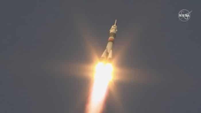 Ripartita la prima Soyuz verso la Stazione Spaziale Internazionale