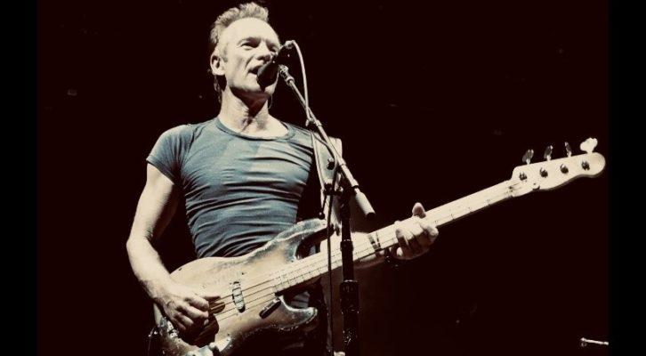 Sting annuncia il tour europeo con due date in Italia