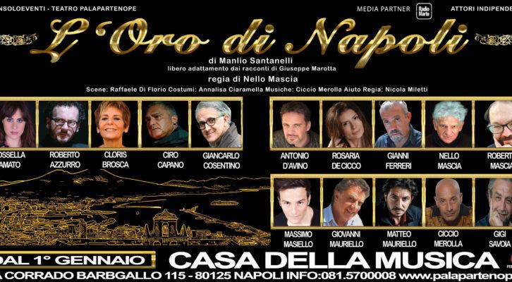 """Grande successo per """"L'oro di Napoli"""" diretto da Nello Mascia"""