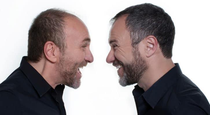 """Gianfranco e Massimiliano Gallo in scena al Teatro Augusteo con """"Comicissimi fratelli. Il pubblico ha sempre ragione"""""""