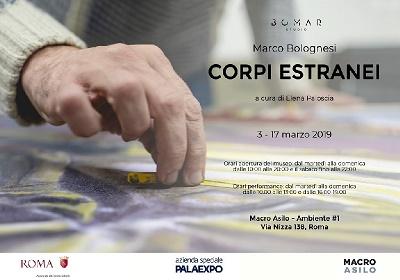 """""""Corpi Estranei"""", la performance di Marco Bolognesi ideata per il Macro Asilo"""