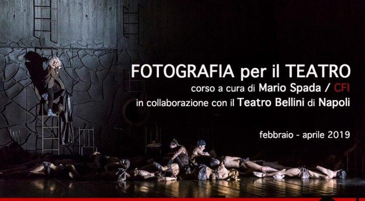 Fotografia per il Teatro, al Teatro Bellini il corso a cura di Mario Spada