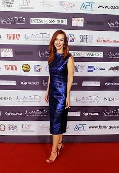 Gioia Libardoni ospite del Festival Los Angeles Italia