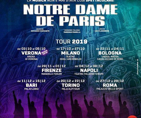 """Torna a teatro """"Notre Dame de Paris"""", l'opera moderna più famosa al mondo"""