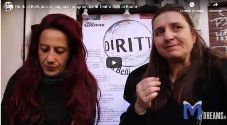 Diritti al Belli, una rassegna in programma al Teatro Belli di Roma