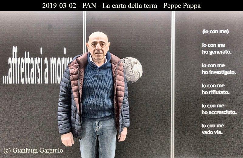 """Inaugurata al Pan la mostra """"La Carta della Terra"""" a cura di Peppe Pappa"""