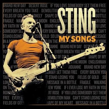 Sting annuncia l'uscita del nuovo album My Songs'