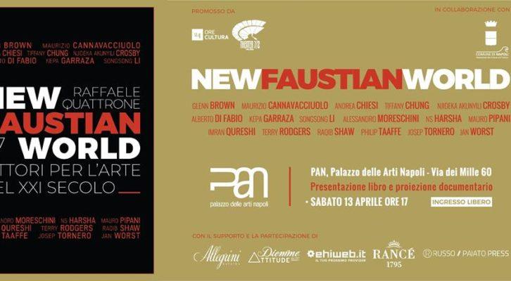 """Al Palazzo delle Arti di Napoli in mostra """"Faustian FactorNewFaustianWorld. 17 pittori per l'arte del XXI secolo"""""""