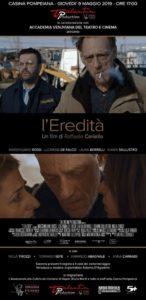 """Il cortometraggio """"L'eredità"""" di Raffaele Ceriello presentato a  Napoli (locandina eredità 146x300)"""