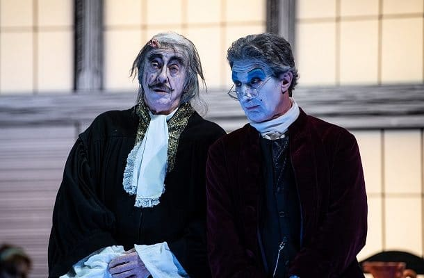 La Brocca Rotta di Kleist diverte il Teatro Mercadante