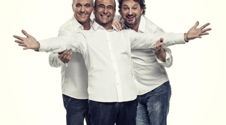 Panariello, Conti e Pieraccioni ancora insieme in una nuova tournée teatrale