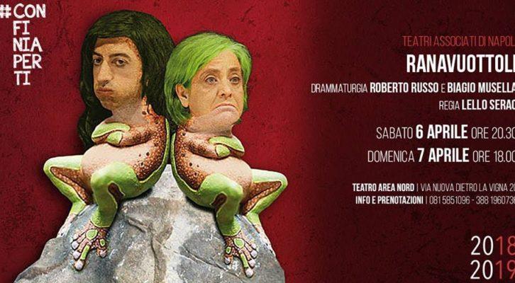 """Teatro Area Nord va in scena """"Ranavuottoli (Le Sorellastre)"""""""
