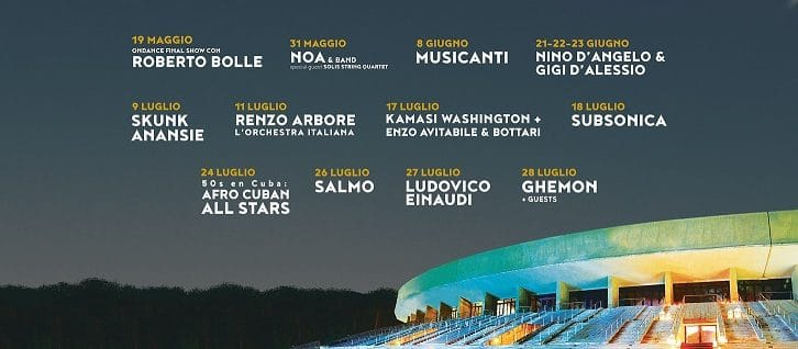 All'Arena Flegrea di Napoli torna il Noisy Naples Fest
