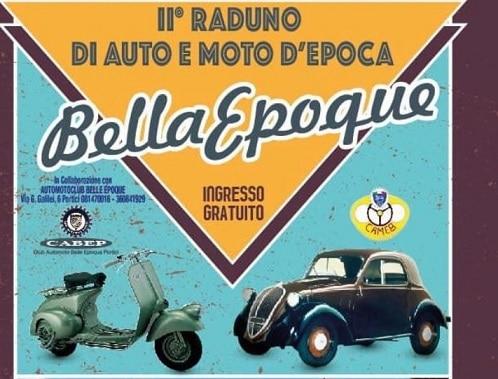 """""""Bella Epoque"""" : secondo raduno di auto e moto d'epoca"""