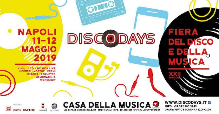 Torna un nuovo appuntamento con DiscoDays, la fiera del disco e della musica