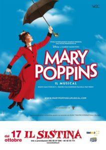 locandina mary poppins