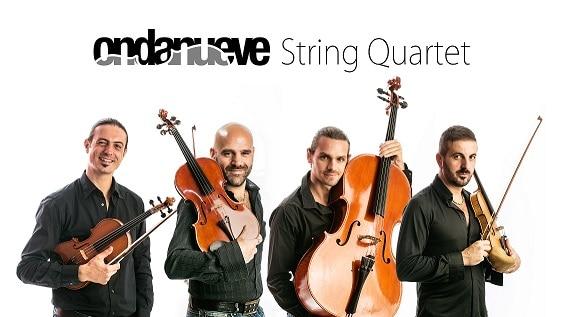 """Gli Ondanueve String Quartet presentano il loro album di inediti """"Mutazioni"""