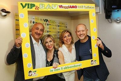 """Grande successo per l'evento """"Vip&Bau:VIaggiAMO tutti insieme"""""""