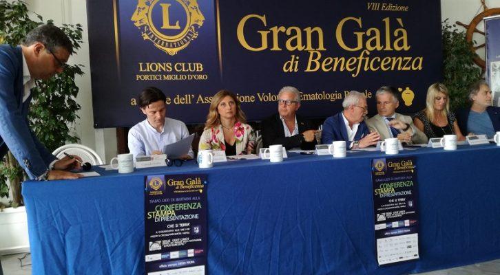 """Presentato al Circolo Rari Nantes di Napoli il """"Gran Galà di beneficenza"""" in favore dell'A.V.E.P."""