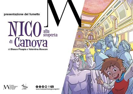"""""""Nico alla scoperta di Canova"""" al Museo Archeologico Nazionale di Napoli"""
