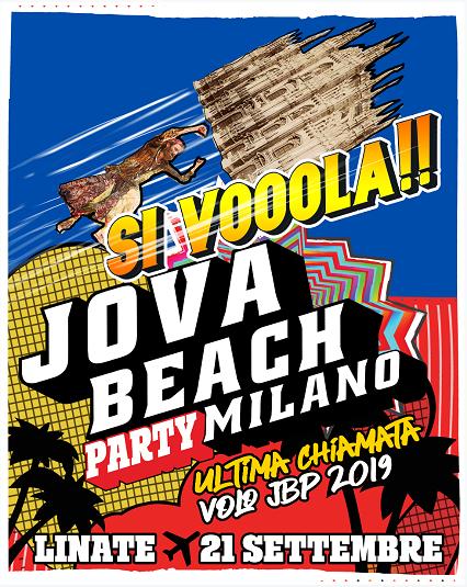 Previsto a Milano Linate l'appuntamento finale con il Jova Beach Party