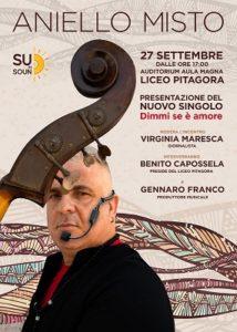 """Aniello Misto torna sulle scene con """"Dimmi s'è amore"""" feat Jorge Pardo (aniello misto locandina evento 214x300)"""