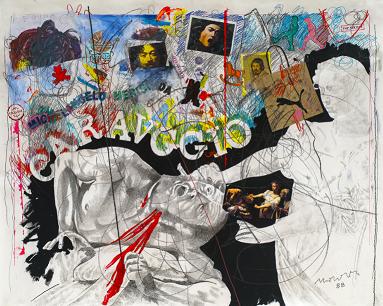 """""""Veloci-Raptor"""", le opere di Enrico Manera presso """"Il Margutta Veggy Food & Art"""""""