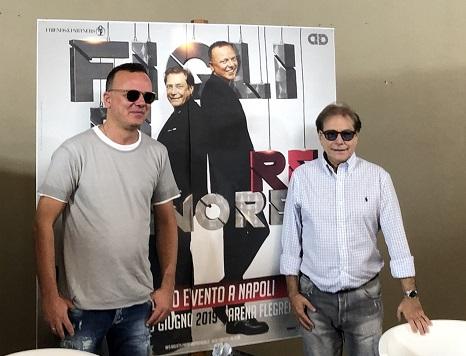 """""""Figli di un re minore"""", una grande festa che celebra l'amicizia tra Nino D'Angelo e Gigi D'Alessio"""