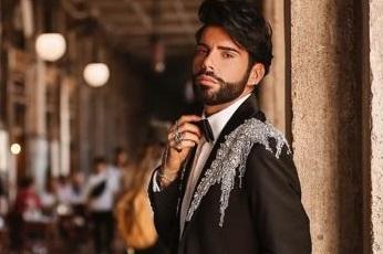 Federico Fashion Style a Napoli per festeggiare il suo compleanno