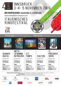 Torna ad Innsbruck il Festival del Cinema Italiano (locandina innsbruck 213x300)