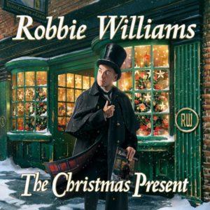 """""""The Christmas Present"""", il primo disco di Natale di Robbie Williams (cover the christmas present robbie williams 300x300)"""