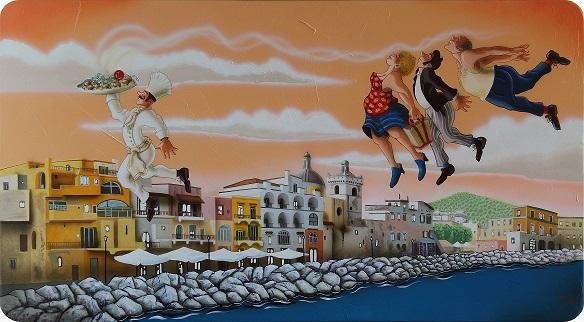 Mostra: 'A tumbulella, I numeri della smorfia dipinti da Maurizio Vinanti