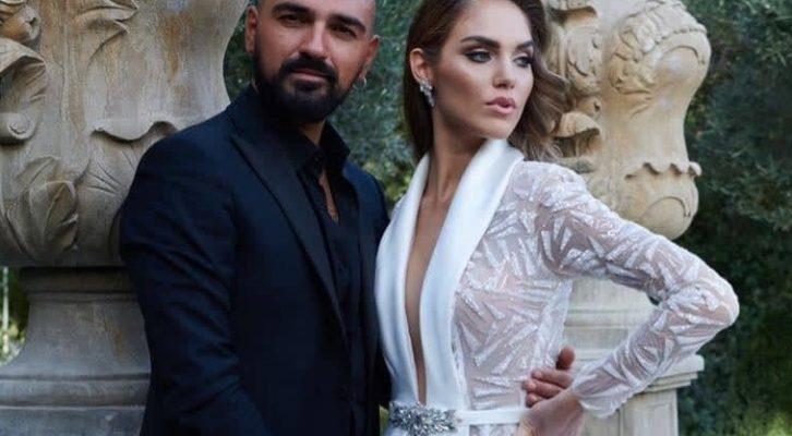 Lo stilista Pappacena racconta storie d'amore attraverso i suoi abiti