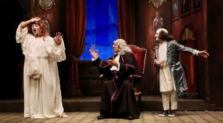 """Peppe Barra al Teatro Augusteo con """"I cavalli di Monsignor Perrelli"""""""