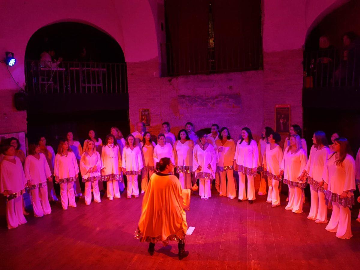 Il coro Eyael città di Pozzuoli per Incanti Narrati