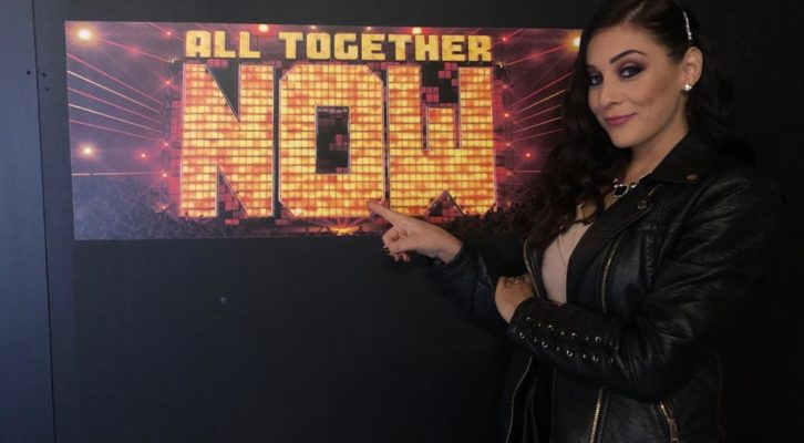 "La cantante e vocal coach Lucya torna ad ""All Together Now"""