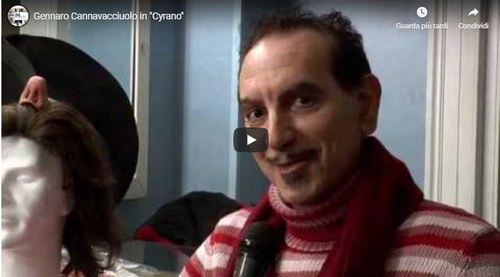 """Gennaro Cannavacciuolo in """"Cyrano"""""""