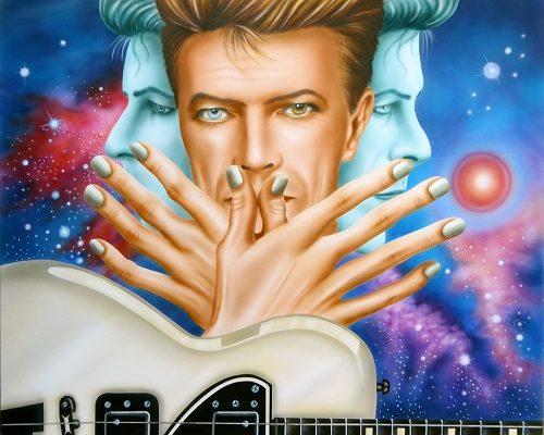 A Roma l'esposizione di 30 nuove opere dedicate a David Bowie