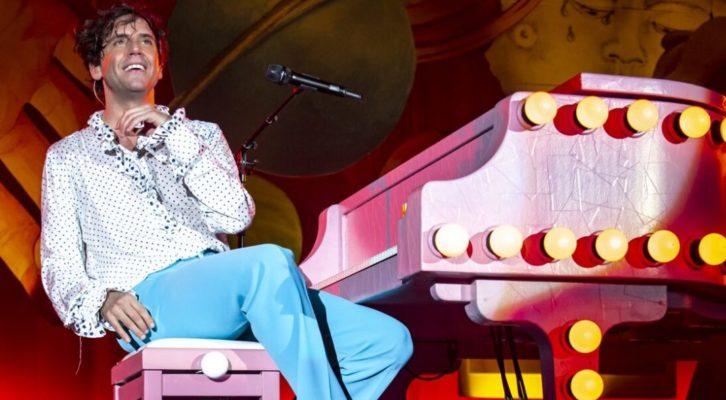 Grande festa al Palapartenope di Napoli per il concerto di Mika