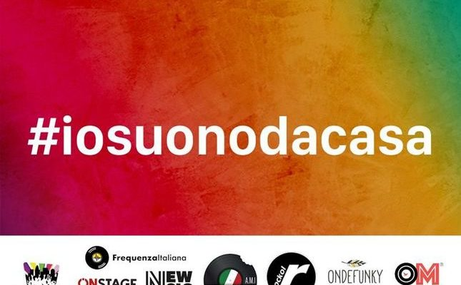 #iosuonodacasa: il calendario dei concerti via social